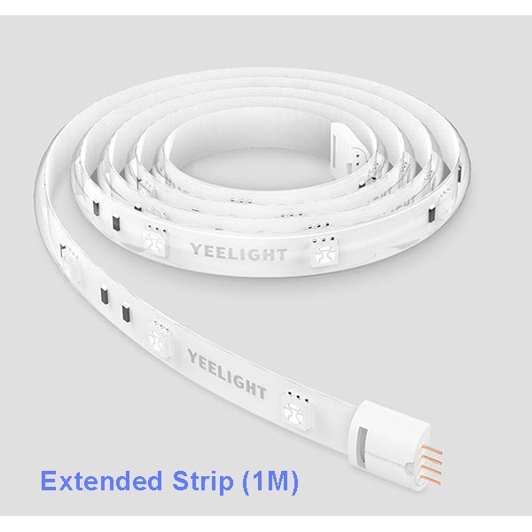 شاومي شريط أضواء LED الذكية من يي لايت أبيض 2M