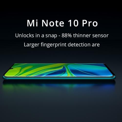 شاومي Mi Note 10 Pro Dual SIM Glacier White 8GB RAM 256GB 4G LTE