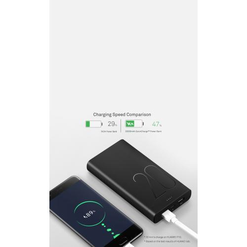 باور بانك سلكي من هواوي بقوة 20000 ملي امبير في الساعة للهواتف الذكية - AP20Q