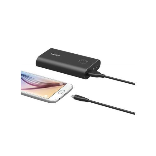 وصلة USB للشحن ولنقل البيانات 3قدم أسود