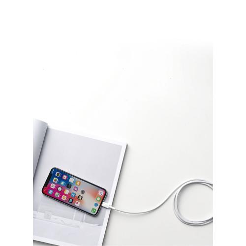 كابل USB C إلى كابل Lightning Powerline Select لآيفون 11/ 11 برو/ X/ XS/ XS ماكس/ 8/ 8 بلس يدعم توصيل الطاقة 6قدم White