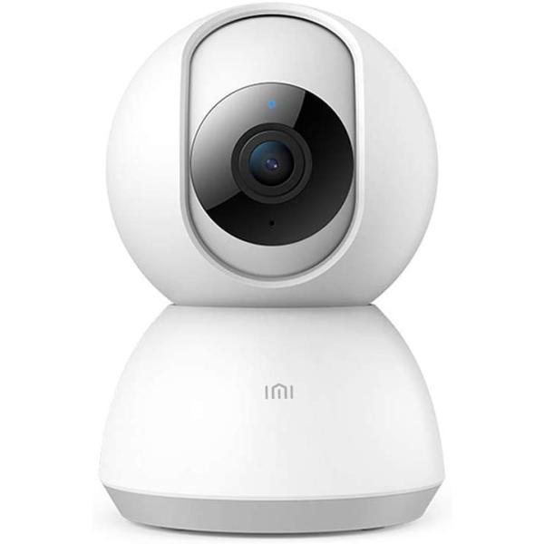 كاميرا مراقبة ذكية لاسلكية اي بي بدقة 1080 بكسل، مجال الرؤيه 360 درجه مزوده بخاصية الرؤيه الليليه